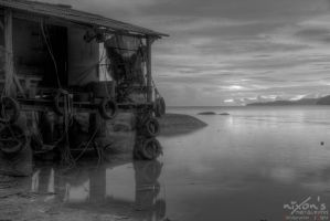 BW Sunset of PDL Penang by fighteden