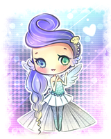 Water Princess Adoptable (SOLD) by mochatchi