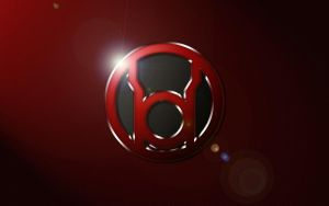 Red Lantern Logo Wallpaper by SUPERMAN3D