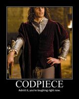 Codpiece Demotivational by LaDracul