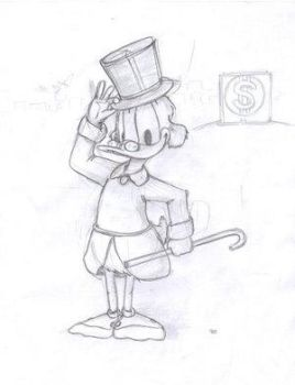 Scrooge Mcduck by trwaza by TheScroogeCrew