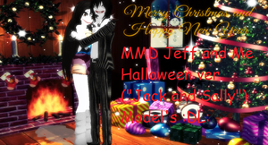 MMD Jeff and Me Halloween ver. :DL: by mokathekiller