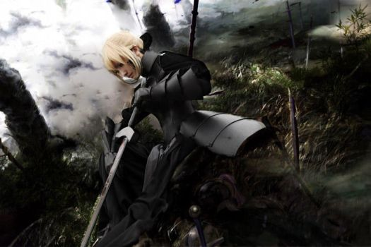 Fate:saber alter by loonglenn