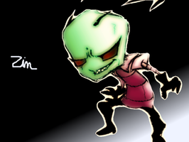 Invader Zim: Freaky by SkooIsCoo