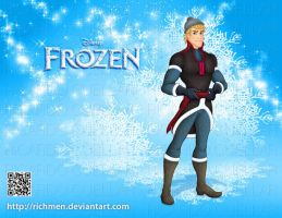 Kristoff Frozen Disney by Richmen