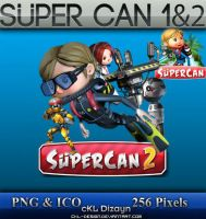 Super Can 1 and 2 - Icon by cKL-Design