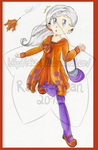 .: TheOC-pageantOfDA - Round 4 Bright Orange :. by Raika-chan