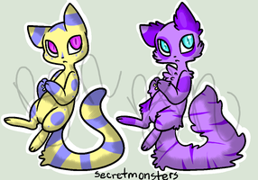 Cat Adopts ~OPEN~ by Goldeye-and-Cory