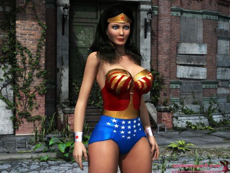 Wonder Woman Classic by mrbunnyart