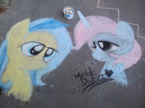My Work in the art lesson - MLP by DulcetIceCocoa