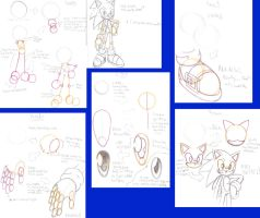 How To Draw Sonic My Way by nailthehedgehog