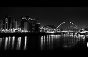 BW River Tyne, Newcastle by Thrill-Seeker