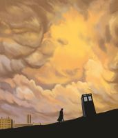 doctor who: Lonely Doctor... by DameEleusys