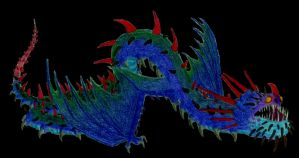 whispering death dragon by alexaAnime1