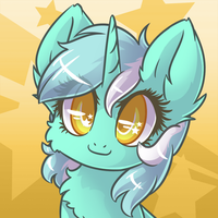 Commission - Lyra Headshot by Sapphfyr