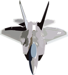 f-22 raptor by Drwolfstein112