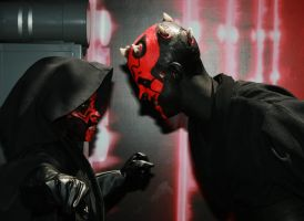 Mini Maul vs. Maul by RubberDuckyTai