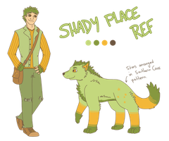 Shady Place Reference Sheet by Sludgy