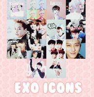 EXO Icons Pack by kamjong-kai