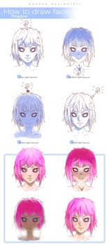 How To Draw Face - Shadow by wysoka