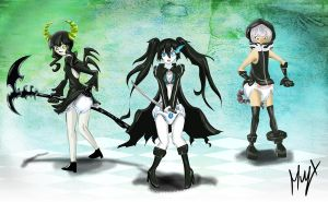 Request Black Rock Shooter by xll34