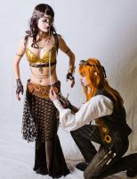 Steampunk elves by CharlieHotshot
