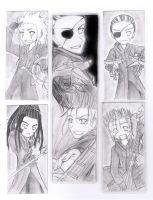 More OrgXIII bookmarkz :3 by Azurith