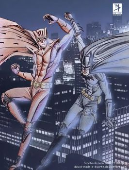 Batman and Nite Owl by david-madrid-duarte