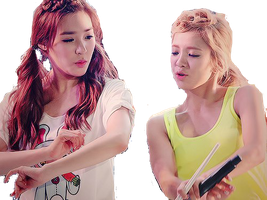 SNSD Hyoyeon and Tiffany - HyoFany ~PNG~ by JaslynKpopPngs
