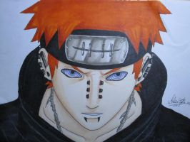 Naruto Shippuuden : Pain by OnePiecerin