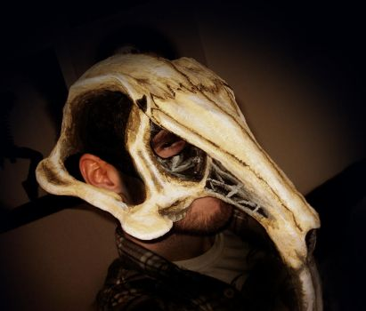 Rat skull mask by Ace-McGuire