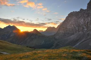 Karwendel Sunrise by Soffeline