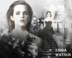 Blend Texture Romantic with Emma Watson by AMDEMBOG123