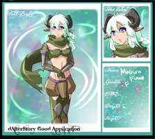 Dafter Story App: Aries by xYorutenshi