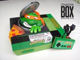 Teenage Mutant Ninja Turtles Custom NES by CreativeBoxGaming