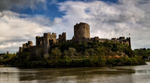 Pembroke castle by CharmingPhotography