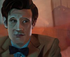 11th Doctor Dreaming of A home that will never..be by Youholic