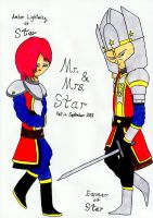 Mr And Mrs Star by lordtrigonstar