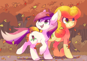 [Commission] Fall Stroll by ChocoChaoFun
