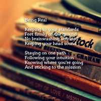 Being Real by Words-from-my-Soul