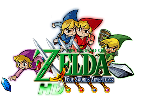 The Legend of Zelda: Four Swords Adventures HD by Legend-tony980