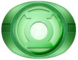 Green Lantern Ring new design by KalEl7