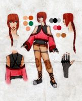 JRPG Character Design by Number-14