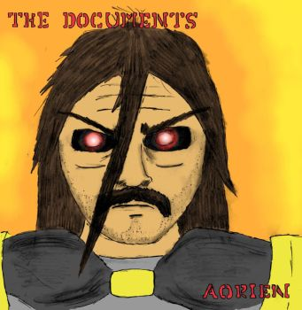 The Documents, v1 p1 - CD-R Cover by BanditAizo