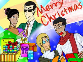 Merry Christmas by Xing-2-Lee