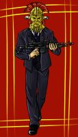 Strip Mobster Lanius by Simple-shadow