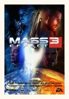 Mass Effect 3 Movie Poster by ToshiStation38