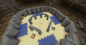 Minecraft: Manasia - Fortress City Arena 5 by Denis-Manase