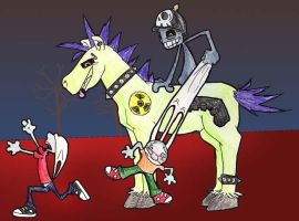 My own 5th Horseman of Doom by shway--dude