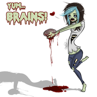 Zombie me! by poliip
